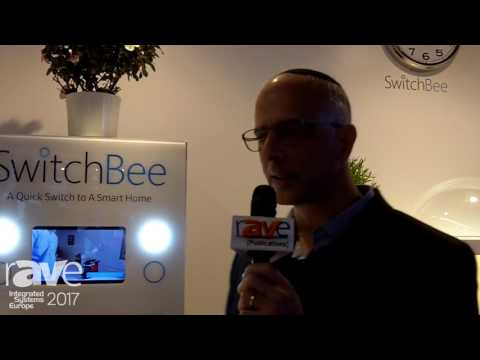 ISE 2017: SwitchBee Demos Wall Plate Switchers for Smart Homes