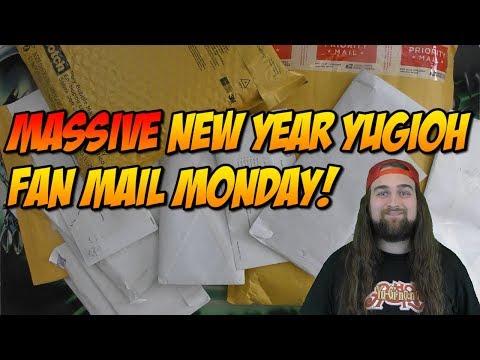 MASSIVE NEW YEAR YUGIOH FAN MAIL MONDAY!