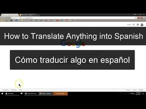 How to Translate Anything Into Spanish - No Ads - Traducir cualquier cosa en español