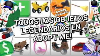 ALL LEGENDARY OBJECTS IN ADOPT ME - ROBLOX