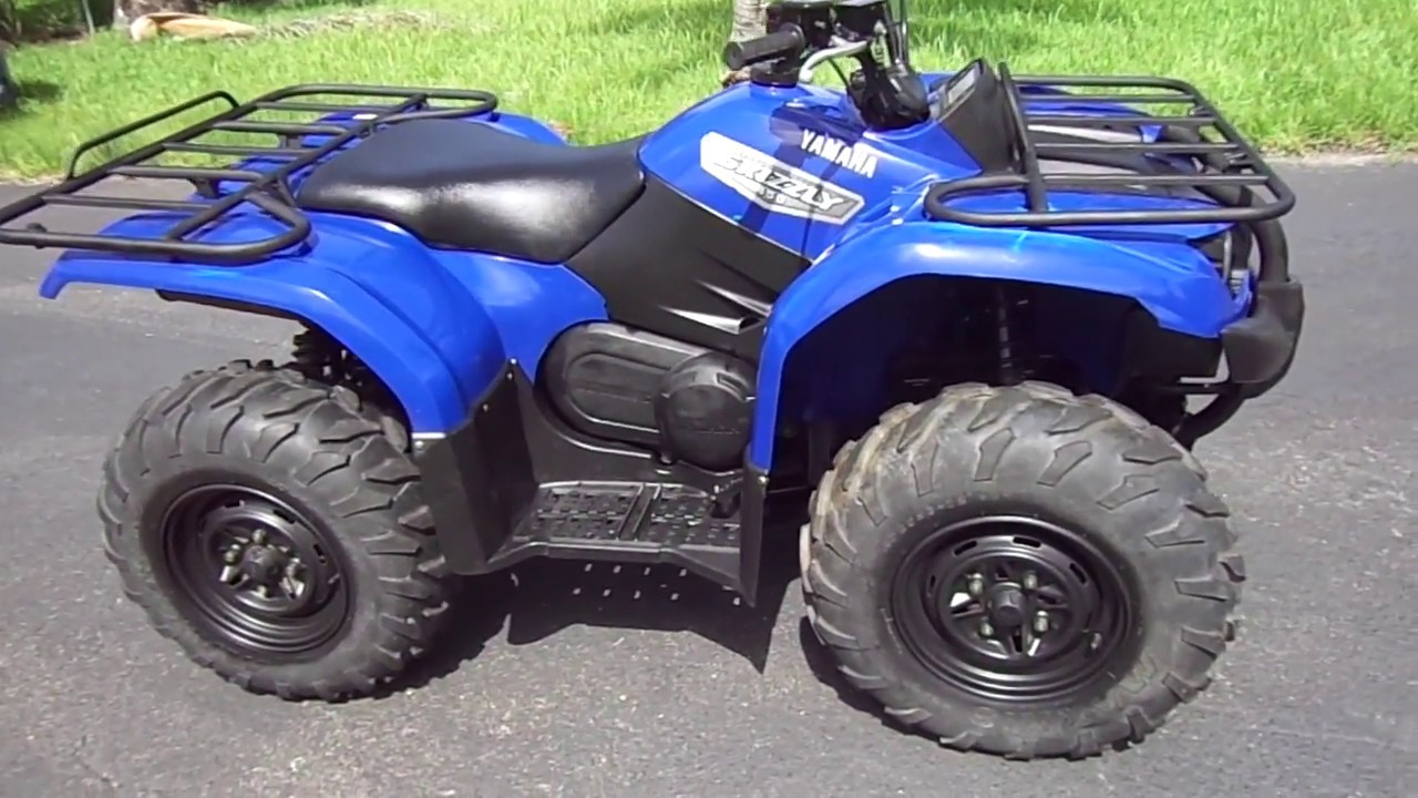 Yamaha Grizzly 450 >> 2007 Yamaha Grizzly 450 Review Ebay 8 2018
