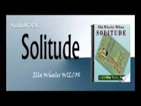 Solitude Ella Wheeler WILCOX Audiobook