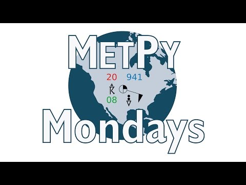 MetPy Mondays #6 - Making a Basic Map with Cartopy : Unidata