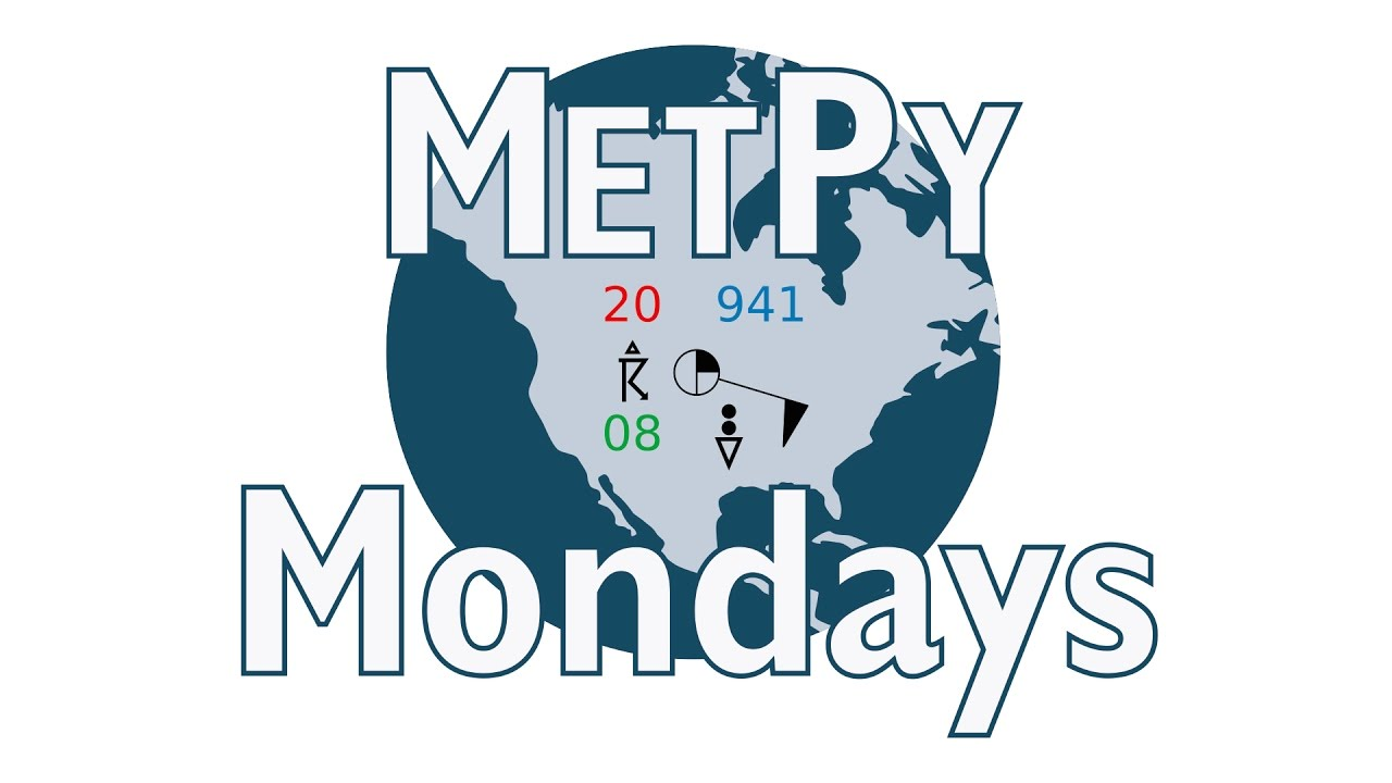 MetPy Mondays #6 - Making a Basic Map with Cartopy