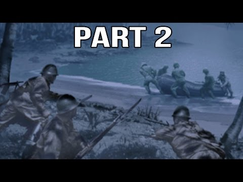 Medal of Honor Rising Sun Gameplay Walkthrough Part 2 - Midnight Raid On Guadalcanal