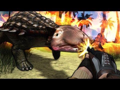 BLOBASAURUS POACHING | Carnivores: Dinosaur Hunter Reborn Funny Moments (Gameplay Montage) |