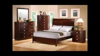 Freya Classic Cherry Finish Solid Wood Construction Queen Bed