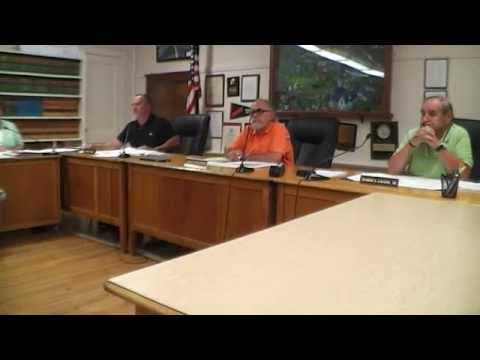 Warren Board of Selectmen: 2014-08-12.  Citizen's Public Records Request & Town Counsel Spending