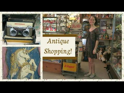 Antique Shopping at Lafayette + Haul!
