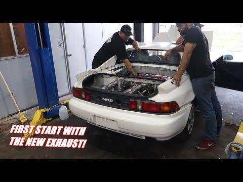 Twin Turbo Mr2 Sounds GOOD!