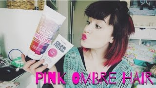 Colour Freedom: Dying My Hair Brown to Pink Ombre