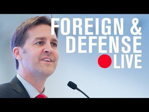Ben Sasse (R-NE) Freedom in the World 2018: Democracy in crisis | LIVE STREAM