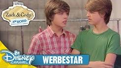 ZACK & CODY AN BORD - Clip: Werbestar | Disney Channel