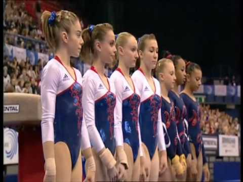 EUROS 2010 - French Gymnasts (vault) - YouTube