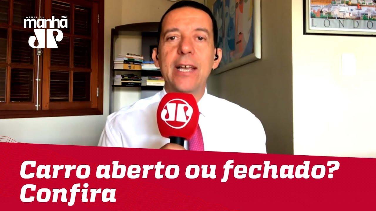 Expectativa para a posse de Bolsonaro: Carro aberto ou fechado? Confira