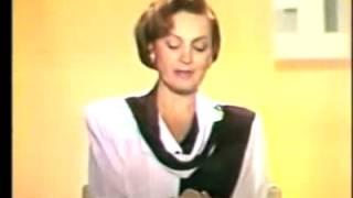 Диктор Татьяна Судец  1 канал Останкино 1993