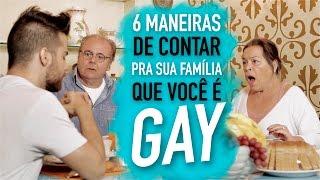 6 MANEIRAS DE CONTAR QUE É GAY - Põe na Roda