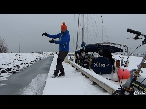 Sailing Baltic Sea in Wintertime - X-Trip on Tour