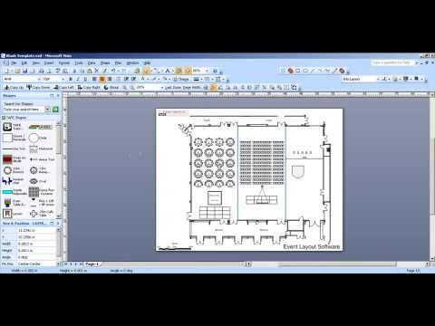 Overview on Using CADplanners Event Layout Software - CADplanners