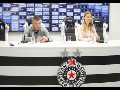 Konferencija Za Medije Pred 26. Kolo Linglong Tire SLS FK Voždovac - FK Partizan