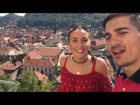 Journey to Romania ( Brasov & Bran ) IN Transylvania OSMO MOBILE VLOG
