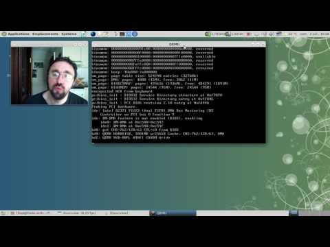 Debian GNU/Hurd 0.8 en action