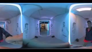 360 experience with Caroline Wozniacki | Australian Open 2016