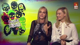 MIX!!!! SUICIDE SQUAD (2016) FUNNY interviews (Part 3)  Margot Robbie,Cara Delevingne,Will Smith