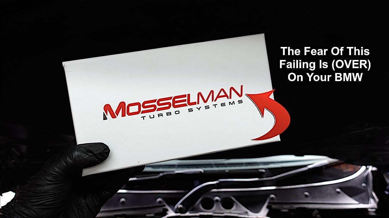 BMW N52 , N54 , N55 Mosselman Oil Cooler & Oil Filter Housing Gasket Replacement