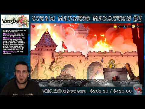 Steam Madness Marathon #3 25: Wonder Boy: The Dragon's Trap  