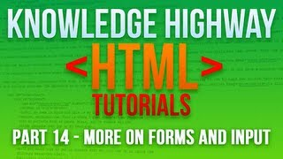 How to program in HTML #14 - More on Forms and Input Mp3