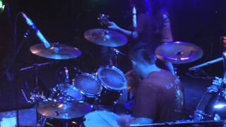 DEXTER WARD- METAL RITES (DRUMCAM) LIVE SUPPORTING WARLORD 28/4/2013