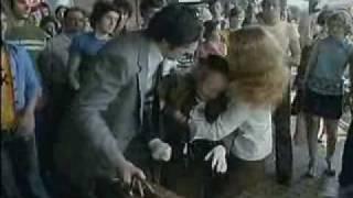 """Nitrianska stanica vo filme """"Cesta Domov"""" z roku 1976"""