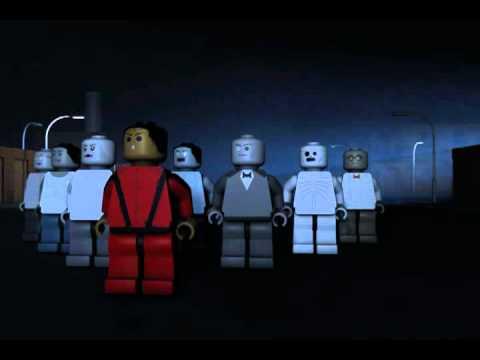 Michael Jackson's Thriller - Lego 3D version