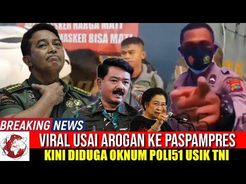 VIRAL DIDUGA OKNUM POL1S1 RENDAHKAN TENTARA, BEGINI REAKSI JENDERAL BINTANG 4 TNI !!!