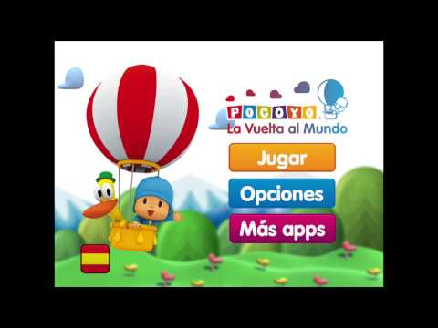 Pocoyo: La Vuelta al Mundo - Juego Gratuito!!