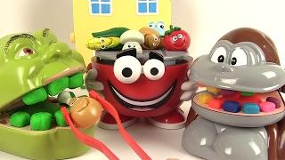 Shrek et le Singe mangent du Barbecue Party Grillades Jeu de Société