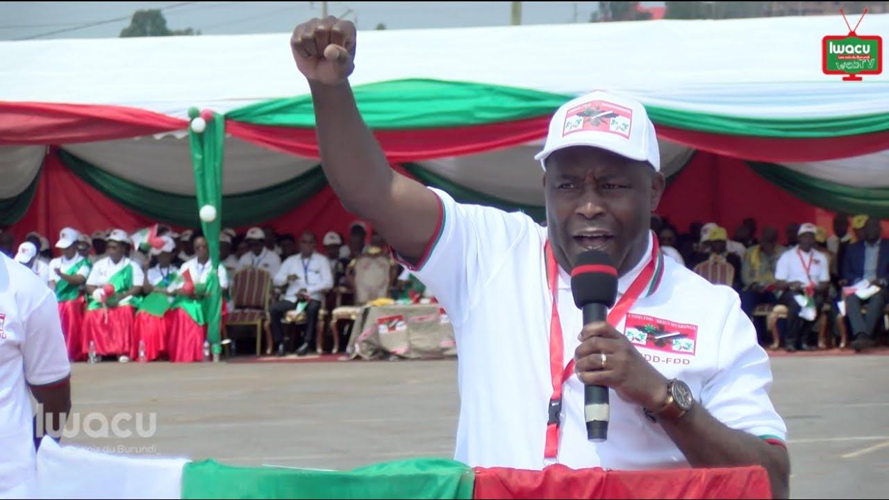 Evariste Ndayishimiye, élu candidat du CNDD-FDD pour la présidentielle de 2020.