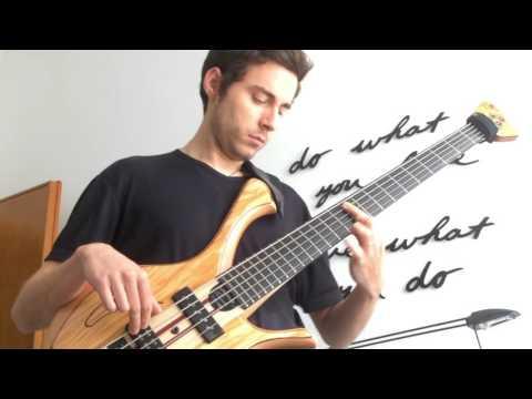 Bach Cello Suite 1 - Prelude (Solo Bass Guitar)