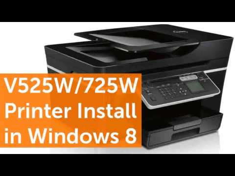 Dell V525W Wireless All In One Inkjet Color Photo Printer with Scanner Copi