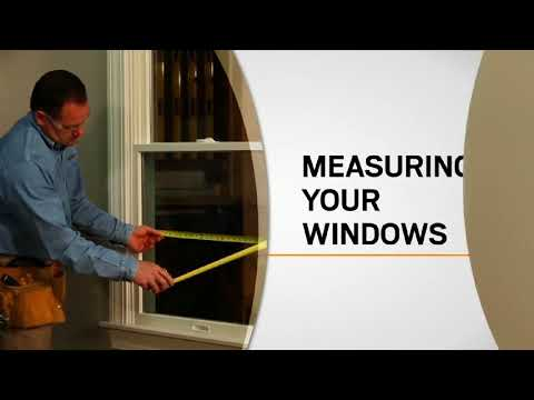 Iding and Measuring Windows for Narroline Conversion Kits | Andersen Windows
