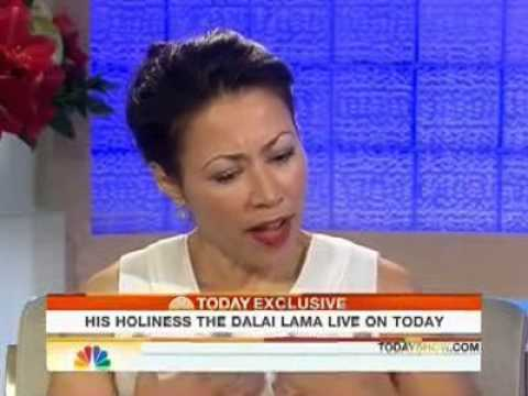 Ann Curry Interviews His Holiness 14th Dalai Lama on NBC's morning news