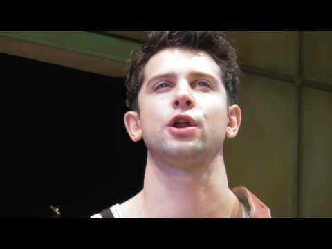 Million Dollar Quartet Cast Singing Down By The Riverside In A Press Get-together At The T