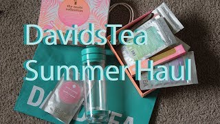 DavidsTea Summer Haul