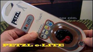 The New Petzl e+LITE Headlamp Review