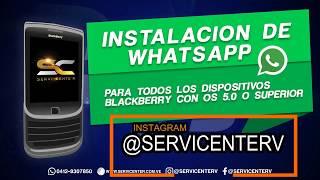 Whatsapp para blackberry nuevo metodo 2018