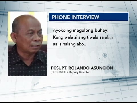 BuCor Deputy Dir. Rolando Asuncion resigns following allegations of receiving drug money