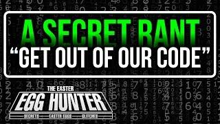 Secret Video Game Rant - The Easter Egg Hunter