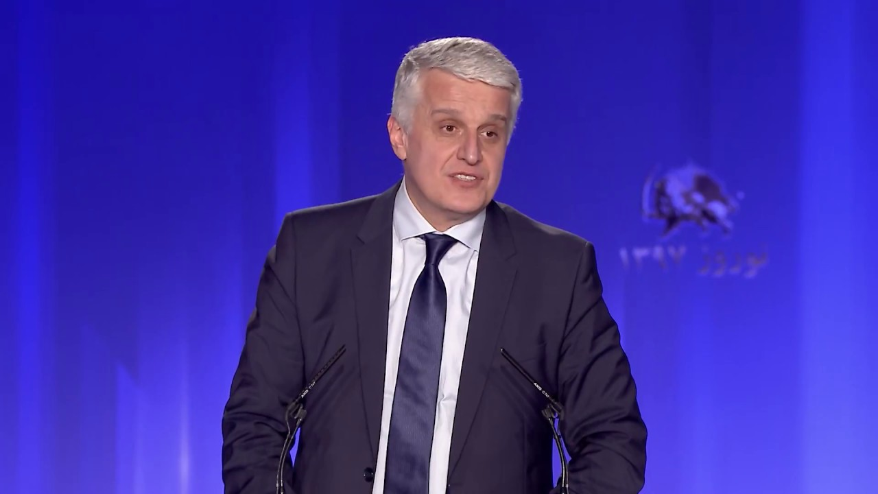 Speech by Pandeli Majco in the Iranian New Year celebration of the Iranian Resistance in Albania