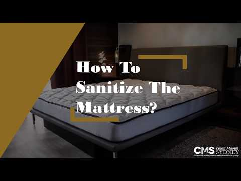 How To Sanitize The Mattress